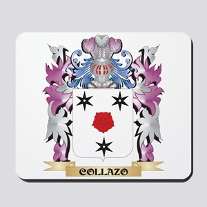 Collazo Coat of Arms (Family Crest) Mousepad