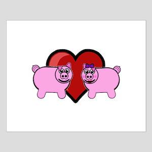 Piggy Love Posters