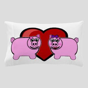 Piggy Love Pillow Case