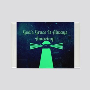 """God's Grace Is Always Amazing"" Magnets"