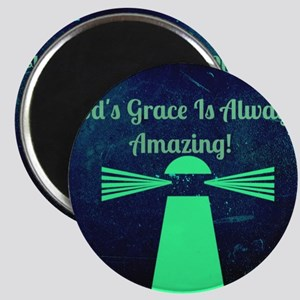 """""""God's Grace Is Always Amazing"""" Magnets"""
