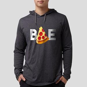 Emoji Pizza Bae Mens Hooded Shirt