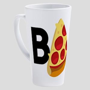 Emoji Pizza Bae 17 oz Latte Mug
