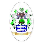 Wulf Sticker (Oval 50 pk)