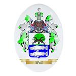 Wulf Oval Ornament