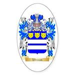 Wrixon Sticker (Oval 50 pk)