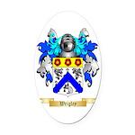 Wrigley Oval Car Magnet