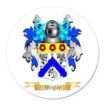 Wrigley Round Car Magnet