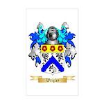 Wrigley Sticker (Rectangle)