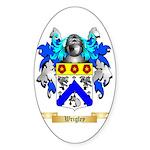 Wrigley Sticker (Oval)