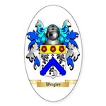 Wrigley Sticker (Oval 50 pk)