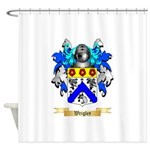 Wrigley Shower Curtain