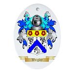 Wrigley Oval Ornament