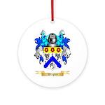 Wrigley Round Ornament