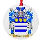 Wrightson Round Ornament