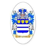 Wrightson Sticker (Oval)
