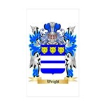 Wright Sticker (Rectangle 50 pk)