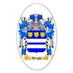 Wright Sticker (Oval 10 pk)