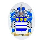 Wright Oval Ornament