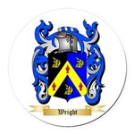 Wright (Ireland) Round Car Magnet