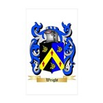 Wright (Ireland) Sticker (Rectangle 10 pk)
