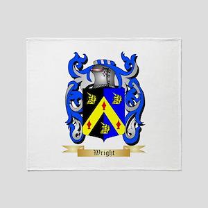 Wright (Ireland) Throw Blanket