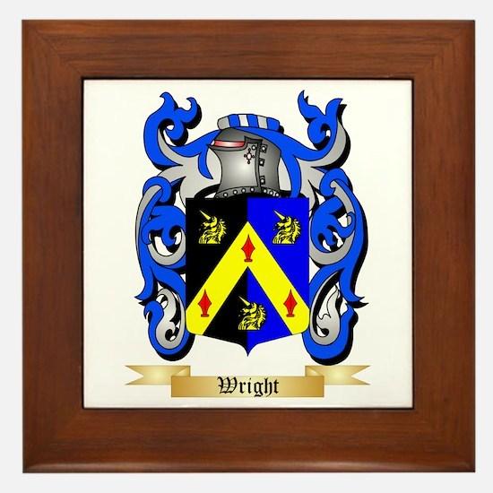 Wright (Ireland) Framed Tile