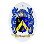 Wright (Ireland) Oval Ornament