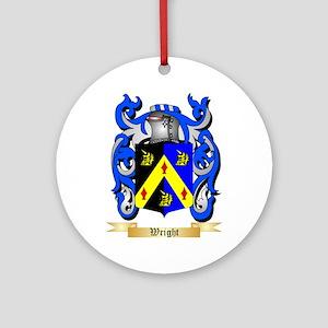 Wright (Ireland) Round Ornament