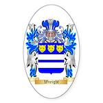 Wreight Sticker (Oval 50 pk)