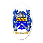 Wray Oval Car Magnet