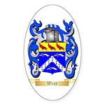 Wray Sticker (Oval 10 pk)