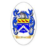 Wray Sticker (Oval 50 pk)