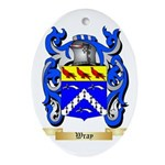 Wray Oval Ornament