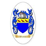 Wratten Sticker (Oval)