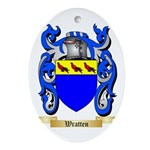 Wratten Oval Ornament