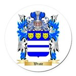 Wrate Round Car Magnet