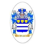 Wrate Sticker (Oval 10 pk)