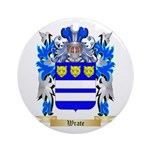 Wrate Round Ornament
