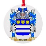 Wraight Round Ornament