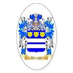 Wraight Sticker (Oval 10 pk)
