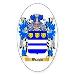 Wraight Sticker (Oval 50 pk)