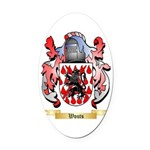 Wouts Oval Car Magnet