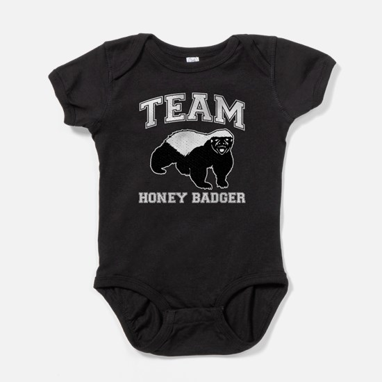 Team Honey Badger Baby Bodysuit