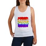 Love Wins Gay Pride Flag Women's Tank Top