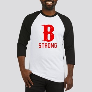 B Strong - Boston Strong Baseball Jersey