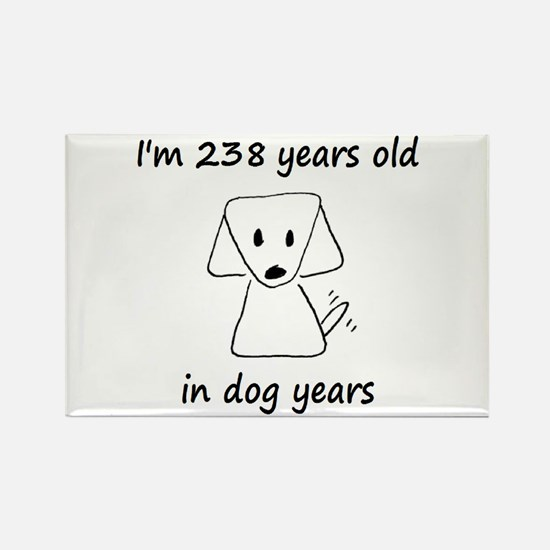 34 Dog Years 6-2 Magnets