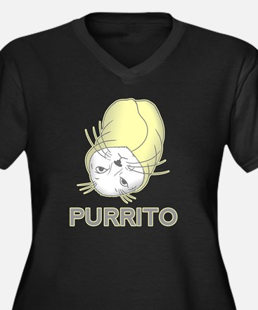 Purrito Plus Size T-Shirt