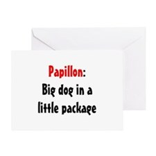 Papillon: Big dog in a little package Greeting Car