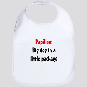 Papillon: Big dog in a little package Bib